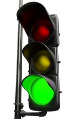 Semaforo luce verde