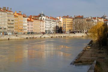 Quai Saint-Vincent à Lyon