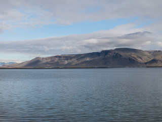 Landscape in Reikjavik, Iceland