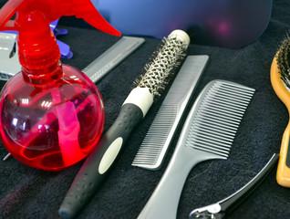 ustencils de coiffure