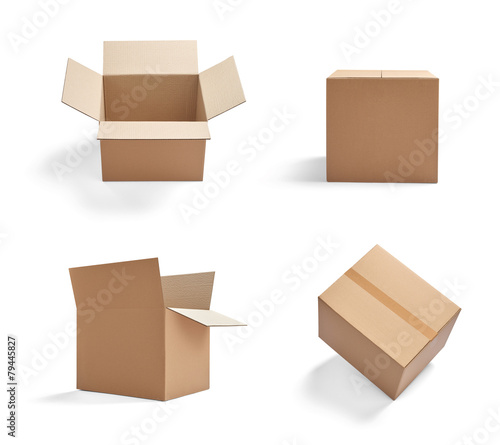 box package delivery cardboard carton - 79445827