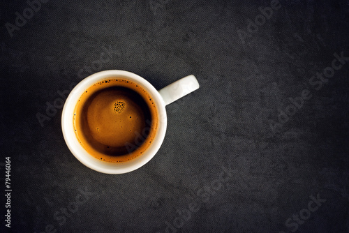 Top View of Coffee Cup - 79446064