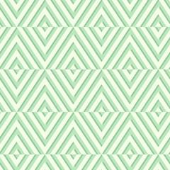 Seamless geometric green pattern. Vector illustration.