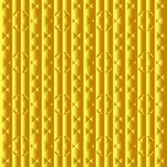 Vector gold texture. Pattern of geometric shapes.