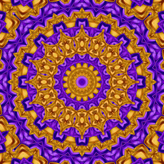 orange purple kaleidoscope