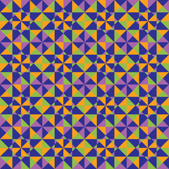 Vector background of colored polygons. Pattern of geometric shap