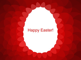 Holiday Easter egg  background. Happy easter..