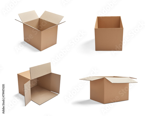 box package delivery cardboard carton - 79447638