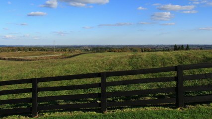 Country Fence Time Lapse