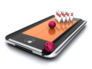 Bowling app - concept