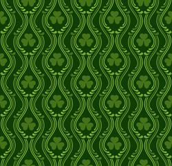 Saint Patrick's day pattern, vector