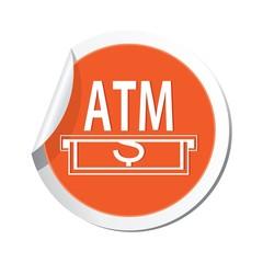 ATM cashpoint icon. Vector illustration