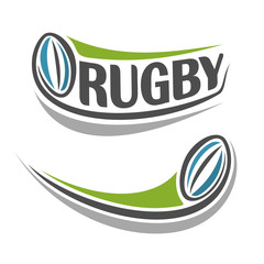 Abstract background on the rugby theme