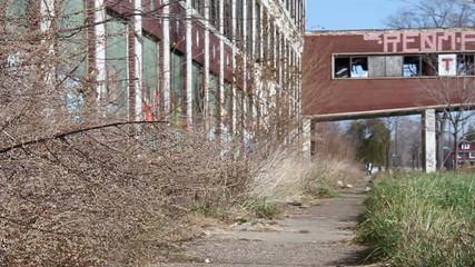 Detroit Factory Ruins 14