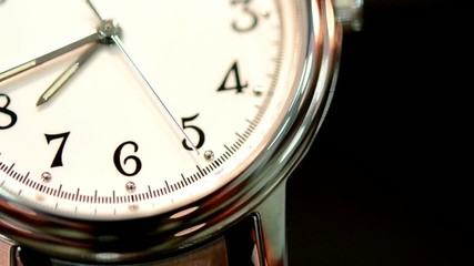 watches, second hand figures 4,5,6,7 close-up
