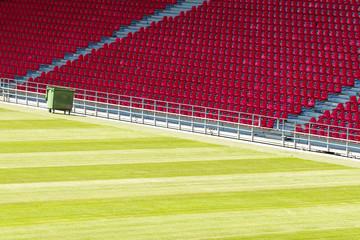 Seats at stadium