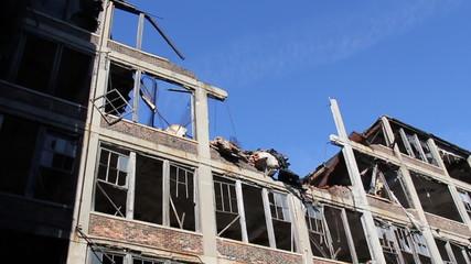 Detroit Factory Ruins 7