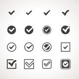 Vector Tick Check Mark Icon Set