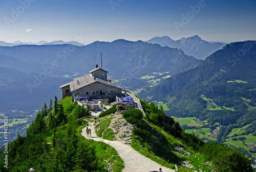 Leinwanddruck Bild Kehlsteinhaus auf dem Obersalzberg in Berchtesgaden