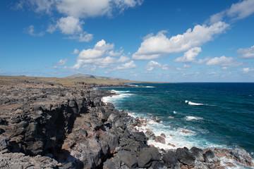 Küstenlandschaft (Osterinsel, Rapa Nui)