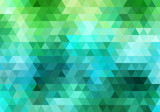 Fototapety abstract geometric vector background, triangle pattern