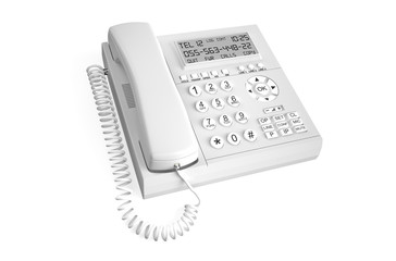white  IP Telephone