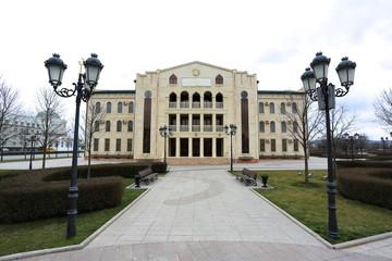 Здание духовного управления мусульман Чеченской Республики