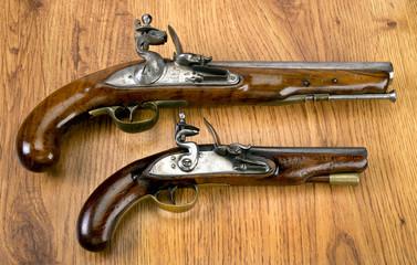 Real Flintlock Pistols.