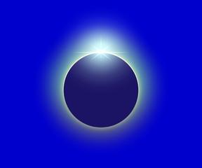 皆既日食 ダイヤモンドリング1
