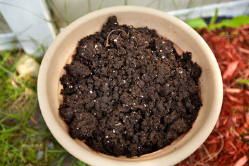 Soil for planting.