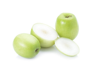 Green Monkey apple or jujubes in basket