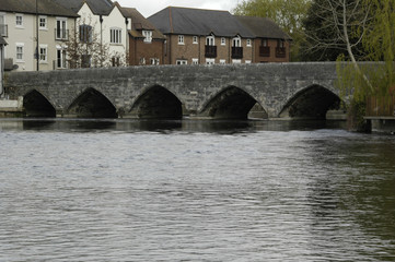 Bridge over the Avon, Ringwood, Hampshire