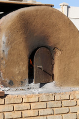Historic Outdoor Clay Oven