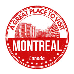 Montreal stamp