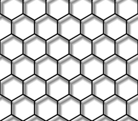 seamless texture - hexagon pattern