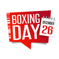 Boxing day - December 26