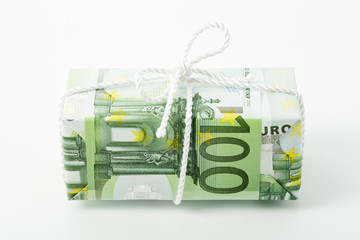 Euro Sparpaket Symbolbild, Studio