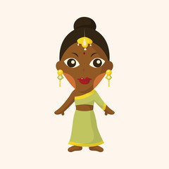 indian people theme elements