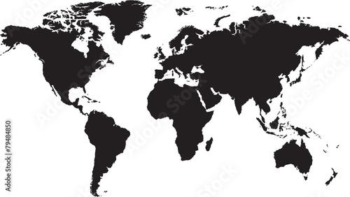 mapa-swiata-na-bialym-tle