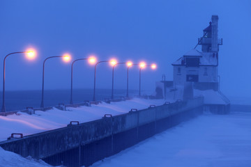 Duluth Harbor South Breakwater Outer Lighthouse