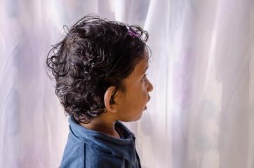 Portrait of small child