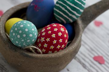 Paskalya Yumurtaları ile Dekor