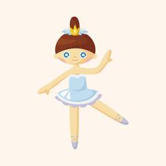 ballet dancer theme elements