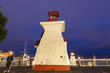 St John Lighthouses. St John, New Brunswick, Canada