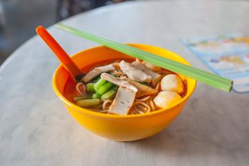 Chinese noodle, Penang, Malaysia