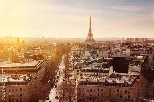 Fotobehang Parijs Paris