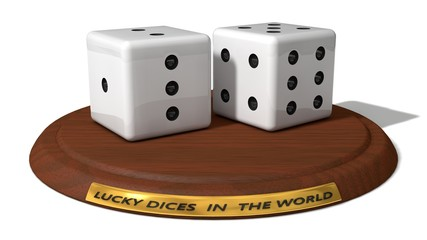 lucky dice prize