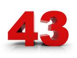 number 43 - 79489419