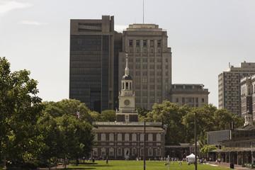View of Independence Hall, Philadelphia