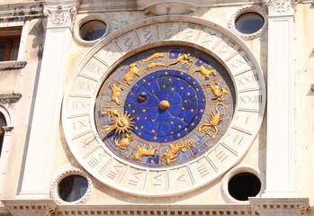 Venetian astrological clock